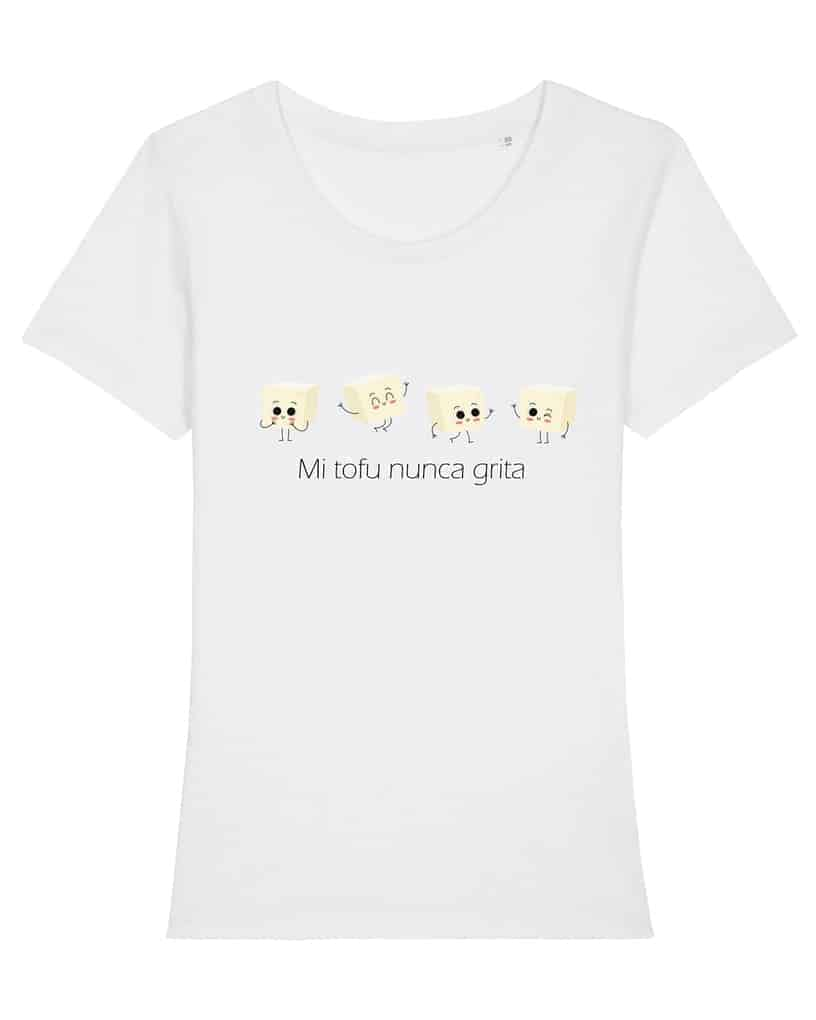 Ropa-vegana-camiseta-mi-tofu-nunca-grita-mujer
