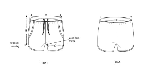 Pantalones cortos cuts mujer