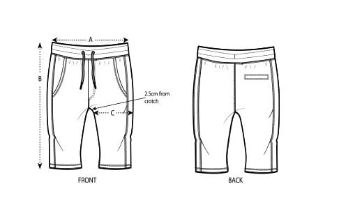 Pantalones cortos shorten hombre