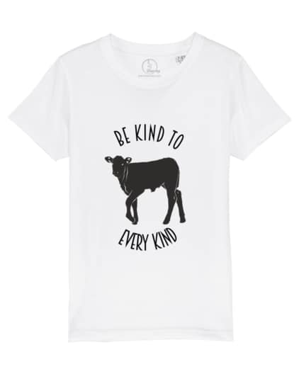 Camiseta-infantil-be-kind-to-to-every-kind-blanco