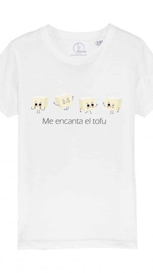 Camiseta-infantil-me-encanta-el-tofu