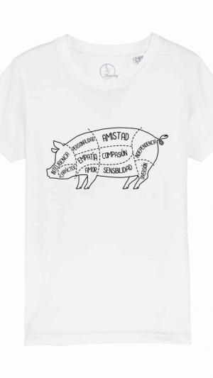 camiseta-infantil-niños-anatomía-del-cerdo-blanco