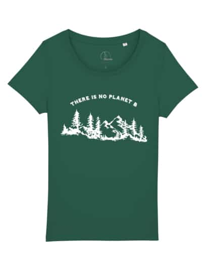 camisetas-ecologistas-there-is-no-planet-b-mujer-verde-botella