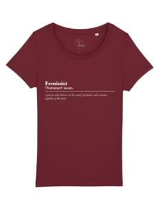 camisetas-feministas-feminist-noun-mujer-granate
