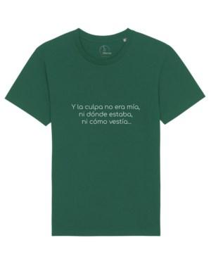 camisetas-feministas-y-la-culpa-no-era-mia-unisex-verde-botella