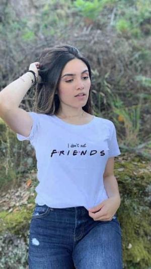 camisetas-veganas-i-dont-eat-friends-blanca