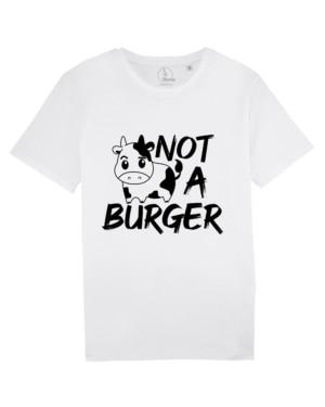 camisetas-veganas-not-a-burger-unisex-blanco