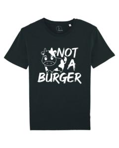 camisetas-veganas-not-a-burger-unisex-negro