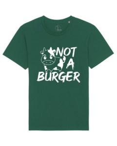 camisetas-veganas-not-a-burger-unisex-verde-botella