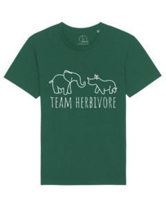 camisetas-veganas-team-herbivore-unisex-verde-botella