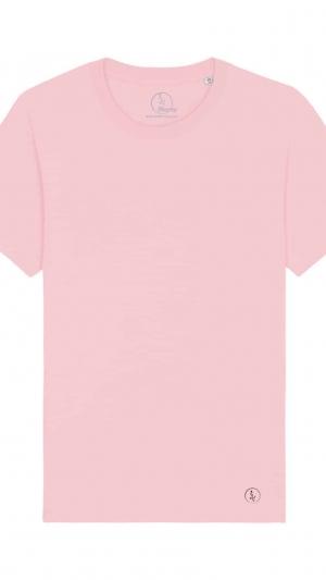 camisetas-basicas-algodon-organico-rosa-unisex