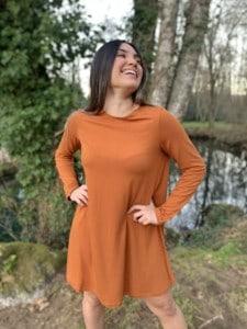 moda-sostenible-vestido-evase-teja-bambu-ecologico-vicky