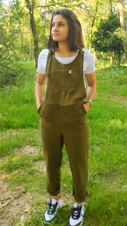 Peto sostenible muselina algodon organico