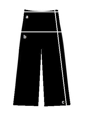 Silueta pantalon culotte